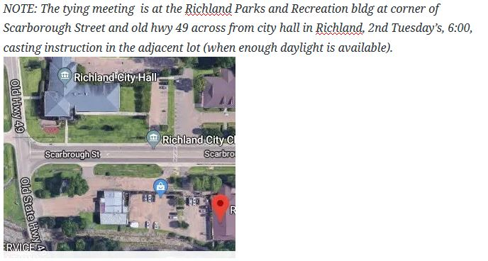 tying meeting directions for Richland